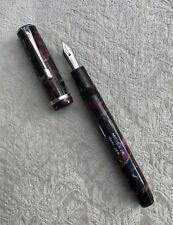 Beautiful 1940's Omas Minerva Fountain Pen, Fine Nib