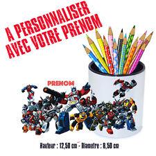 Gobelet stylos ou Brosse à dents personnalisé LES TRANSFORMERS V1