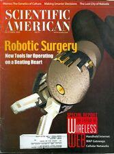 2000 Scientific American: Robotic Surgery/Open Heart Surgery/Future of the Web