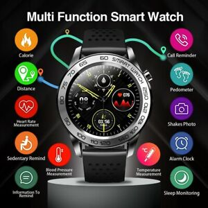 Smart Watch Temperature GPS track long battery life smartwatch Android for Men