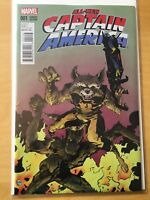 ALL NEW CAPTAIN AMERICA 1, NM (9.2 - 9.4) 1ST PRINT, PAUL POPE VARIANT
