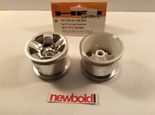 HPI 3042, Type F5 Truck Wheel (Front/Chrome), New