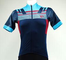 Pearl Izumi 2017 Men's P.r.o. Escape Short Sleeve Cycling Jersey - 11121602 M Eclipse Blue / Tibetan Red