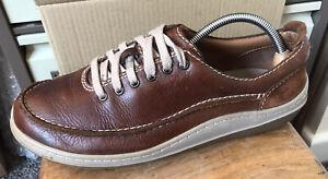Men's CLARKS 'Cushion Plus' Casual Leather Shoes - Size 9 G (43)