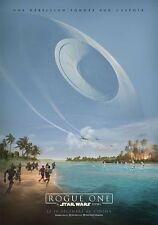Affiche Pliée 120x160cm ROGUE ONE : A STAR WARS STORY (2016) Felicity Jones NEUV