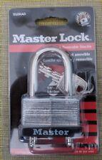"Master Lock 510Kad Padlock 2"" (51Mm) Wide Laminated Steel Body W/2 Keys"