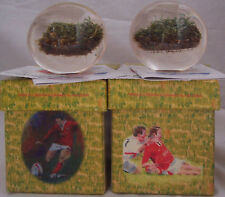 SHANE WILLIAMS TURF PAPERWEIGHT WALES GRAND SLAM 2005 PRICE REDUCED BY £100.00