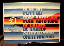 Plan du Port Autonome de Nantes / Saint-Nazaire