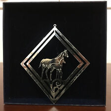 Montana Silversmiths - Christmas Ornament - horse and pony - New with Tags