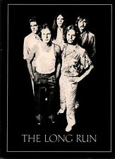 The Eagles 1980 The Long Run Tour Concert Program Book / Booklet/ Nmt 2 Mint