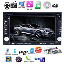 "7"" 2DIN  Pantalla táctil Estéreo MP5 DVD/CD Player Radio Coche Bluetooth USB/AUX"