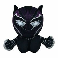 "Marvel's Black Panther 8"" Kuricha Sitting Plush- Soft Chibi Inspired Toy"
