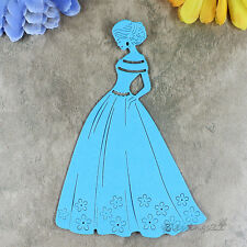 Long Dress Princess Metal Cutting Dies For DIY Craft Photo Scrapbooking Template