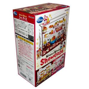Rare 2009 Re-Ment Disney Cake, Bread, Food Display Showcase Cabinet - Part 1