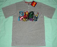 Marvel Comics Hulk, Captain America, Thor, Ironman T-Shirt - M - NWT