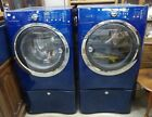 Electrolux Matching Washer And Dryer - Metallic Blue - With Pestles - Gas Dryer  photo
