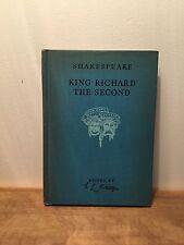 Shakespeare, King Richard The Second (HC), 1941