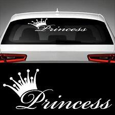 Princess XXL Heckscheibenaufkleber Sticker Auto Aufkleber Prinzessin Styling