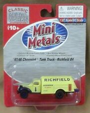 Mini Metals  Classic Metal Works HO scale RTR Chevy Tank Truck Richfield Oil