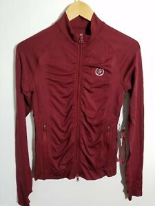 1 NWT WOMEN'S G/FORE JACKET, SIZE: X-SMALL, COLOR: MAROON (J301)