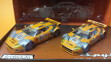 SCALEAUTO SC-6026 LTD. ED. SPYKER G8 GT2R LE MANS 2007 2 CAR SET 1/32 SCALEXTRIC