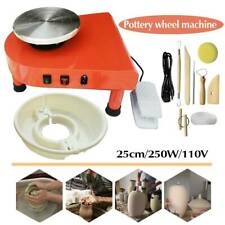 110V 60Hz Electric Pottery Wheel Machine Ceramic Work Clay Art Craft Machine New