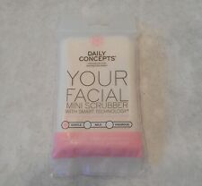 Daily Concepts Your Facial Mini Scrubber with Smart Technology - New
