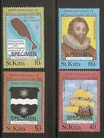 St Kitts SC # Christmas 1985. ( Specimen) MNH
