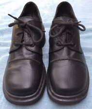 "Dr. Doc Martins Women's Black Leather Oxford ""9264"" England Shoe Size 6 US"