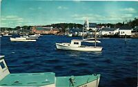 Vintage Postcard - Looking North From East Side Boothbay Harbor Maine ME #4463