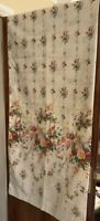 VINTAGE DORMA COUNTRY DIARY SPRING BOUQUET SINGLE DUVET and PILLOW CASE. NEW