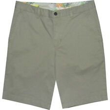 Tommy Bahama Sail Away Shorts Big & Tall 44 44R Olive Flat Front Stretch NWT $98