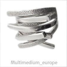 Modernist 925er Silber Design er Ring massiv Handarbeit sterling silver