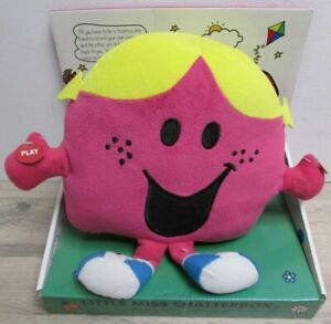 Mookie Little Miss Chatterbox Record & Play Plush Soft Toy Brand New In Box