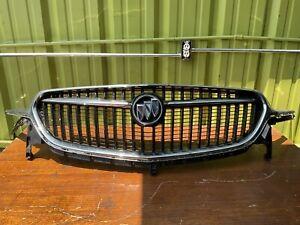 2018 2019 2020 Buick Enclave Upper Chrome Grille Grill W/ Emblem OEM.