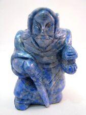 Netsuke Lapislazuli China Figur Lapis Lazuli Chinese Figure Figurine - 2