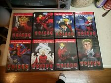 Trigun: The Complete Series volumes 1-8 dvds