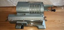 Vintage Soviet Mechanical Calculator Felix Arithmometer. Adding Machine.