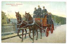 NEDERLAND  1910 ca.  AK AMSTERDAM  BRANDWEER KOOLZUURSPUIT  VW PR EX