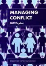 Managing Conflict, Taylor, Gill, Very Good Book