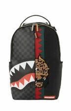 NEW Sprayground Spucci Split Paris leather backpack black multi