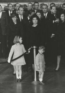 Carl PURCELL: JFK Funeral, Nov 25. 1963 / PIX-K / LIFE Magazine / STAMPED