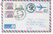Poland 1976 Fip Cancel on Kopernicus cover pharmacy