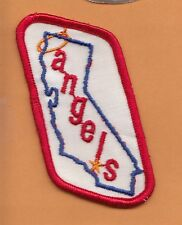 OLD 1970's CALIFORNIA ANGELS 4 inch JERSEY PATCH Unused Unsold Stock