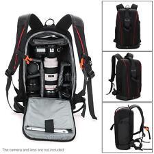 Waterproof Nylon DSLR Camera Bag Padding Case Travel Backpack For Canon Pentax