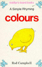Simple Rhyming Colours (Toddler's board books)