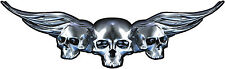 Boat Car Truck Trailer Motorcycle Tank Graphics Decal Vinyl Stickers Skull 9""