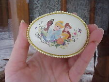 Decorated REAL Egg Disney Princess Jewelry/Trinket/Gift Box Collectible Birthday
