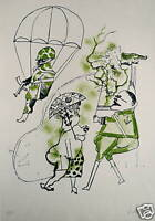 Vanarsky Jack lithographie originale signée numérotée Argentine sud Amérique