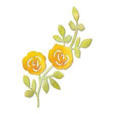 Sizzix Sizzlits Die - Flowers Climbing on Vine - 658066
